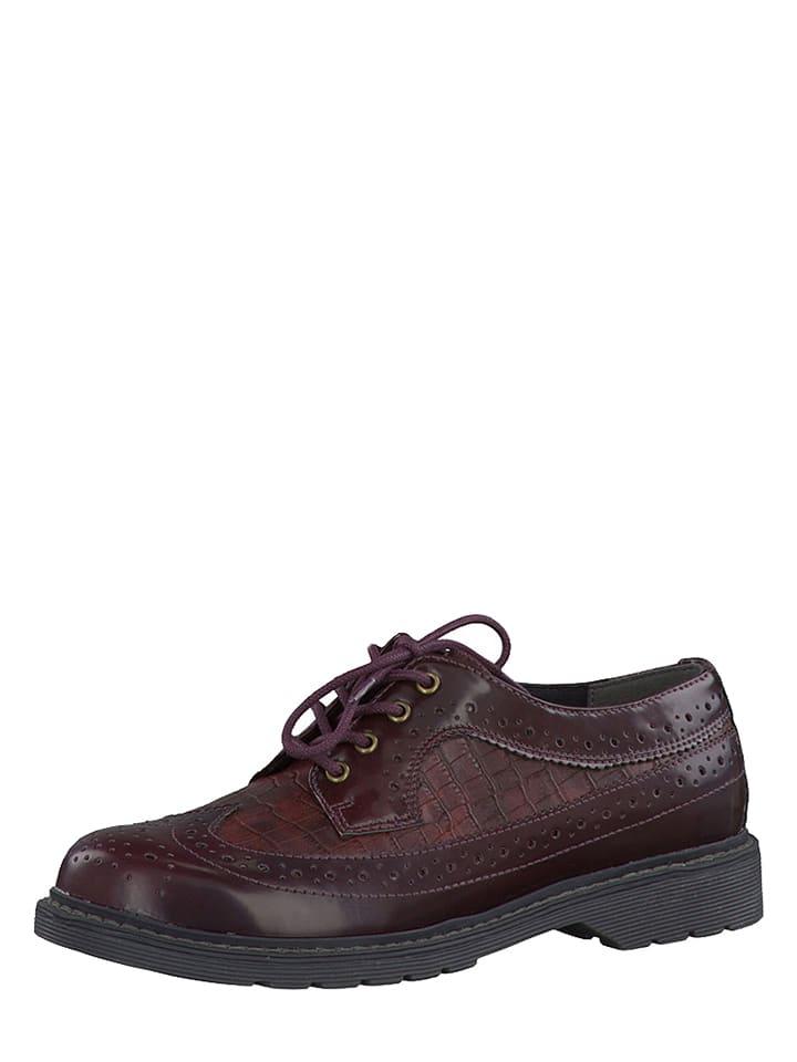 S. Oliver Chaussures à lacets - bordeaux