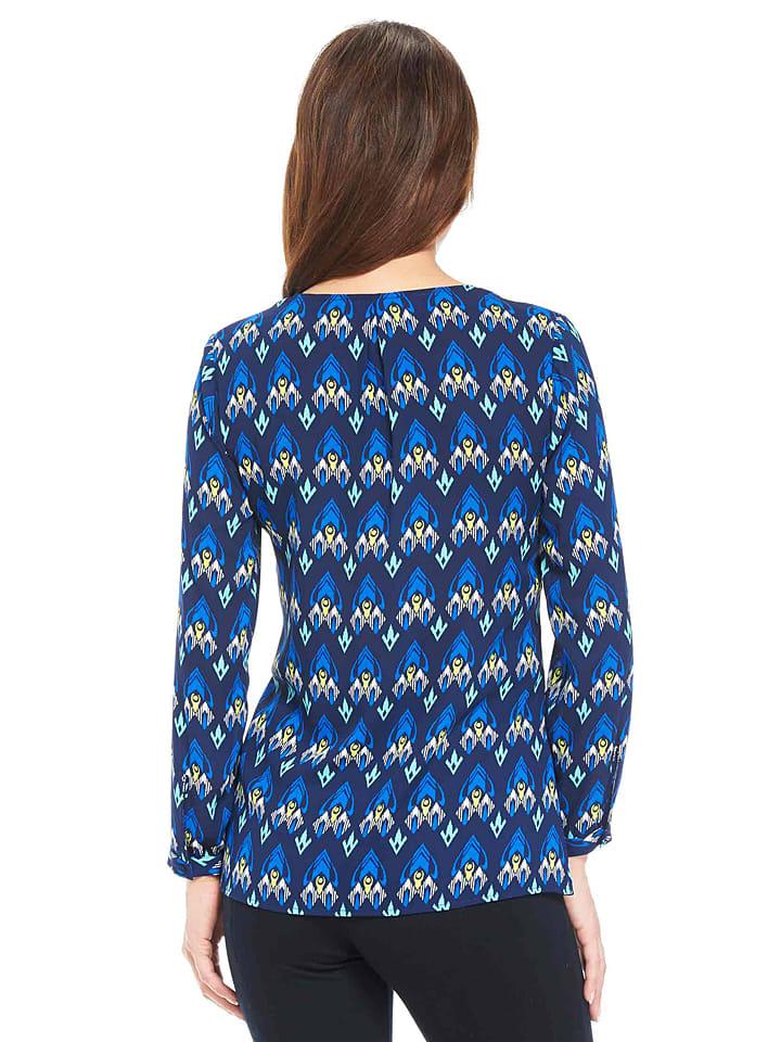 Hatley Tunika in Blau/ Weiß