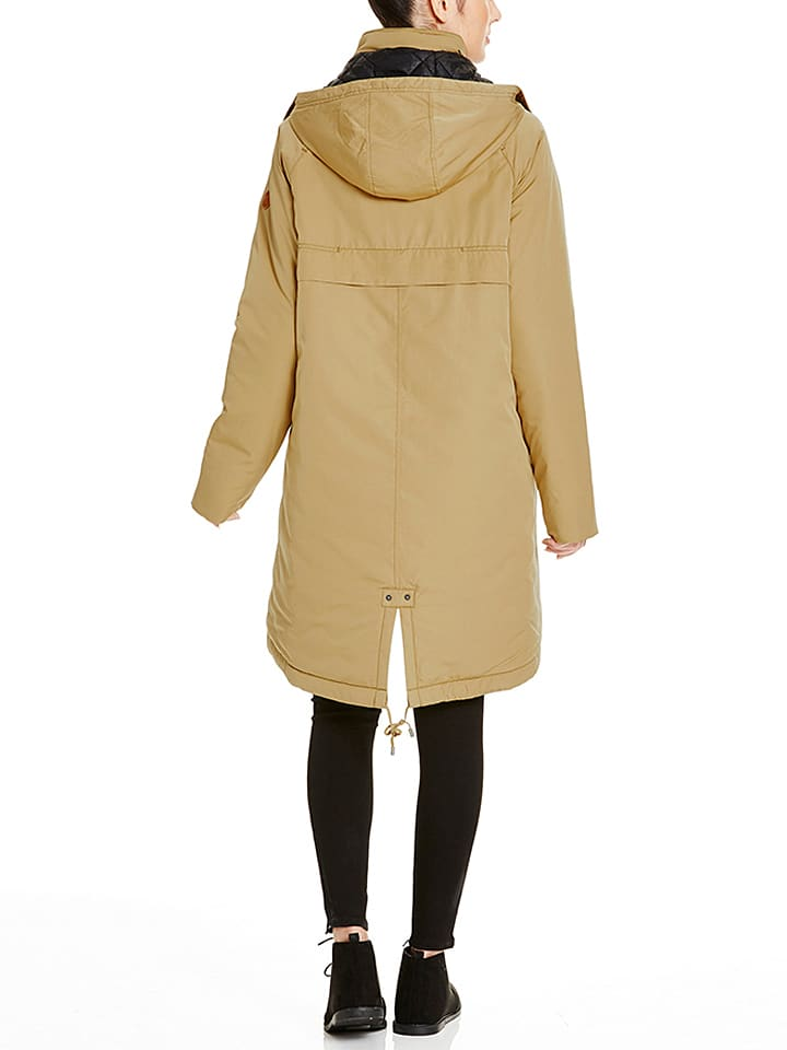 "Bench Parka ""Get-up-and-go"" in Beige"