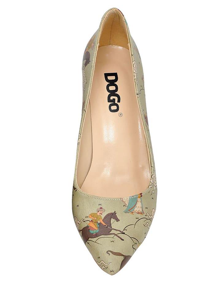 "Dogo Pumps ""Miniature"" in Mint/ Bunt"