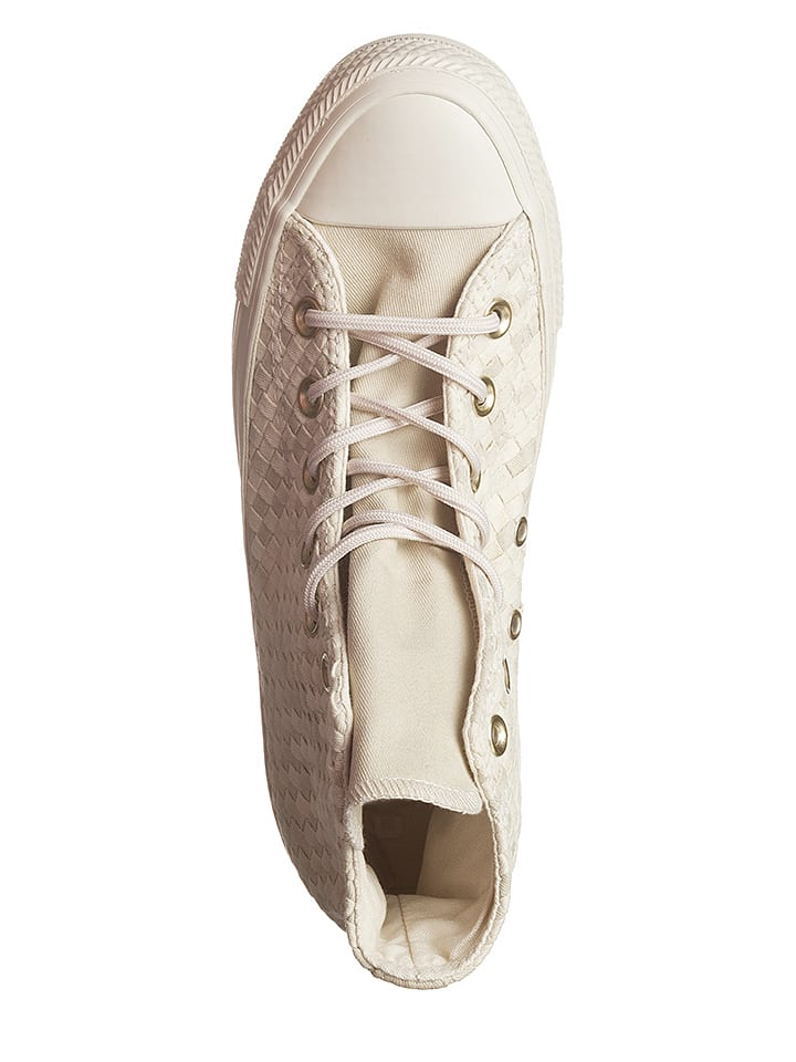 Converse Sneakers in Creme