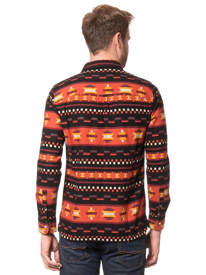 "O`Neill Hemd ""Violator"" in Rot/ Orange/ Schwarz"