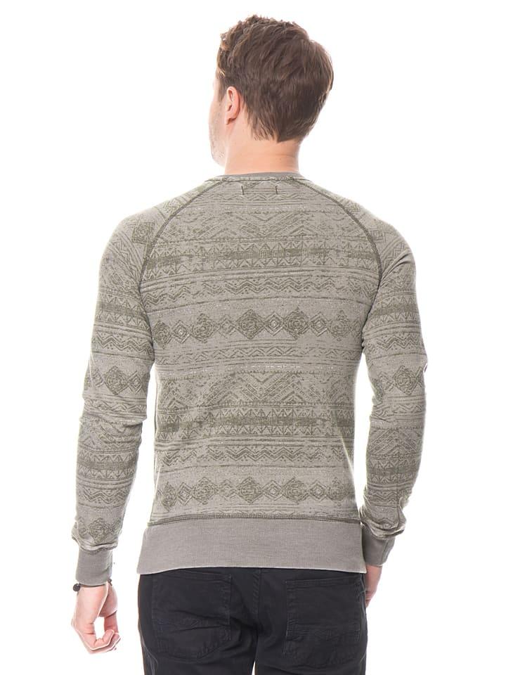 "O`Neill Sweatshirt ""Legacy"" in Taupe/ Grün"