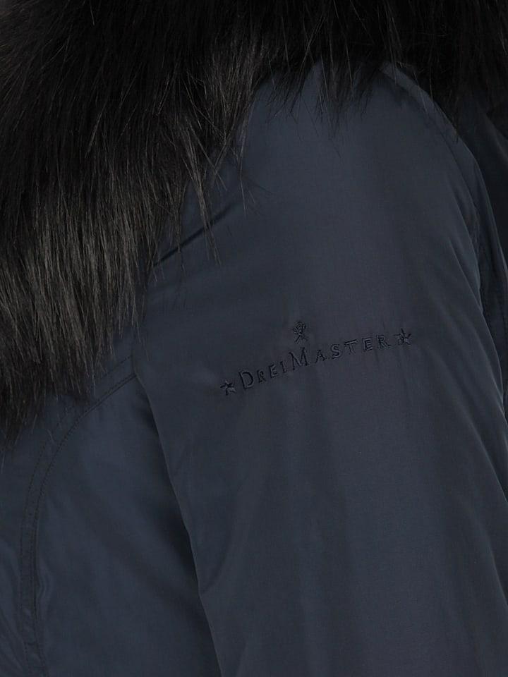DreiMaster Jacke in Dunkelblau