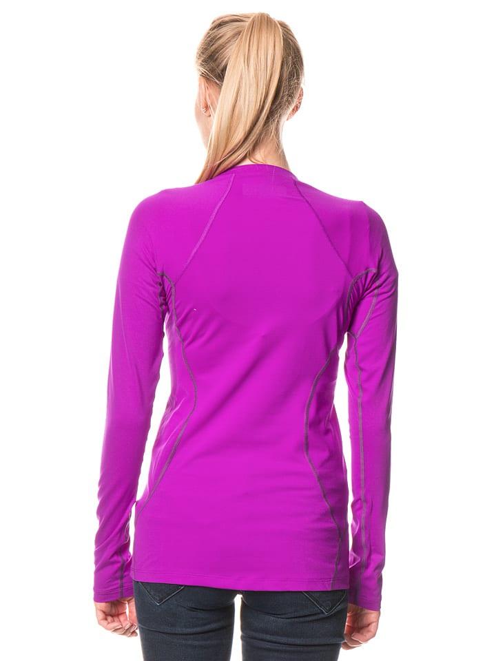 "Columbia Funktionsshirt ""Midweight Stret"" in Violett"
