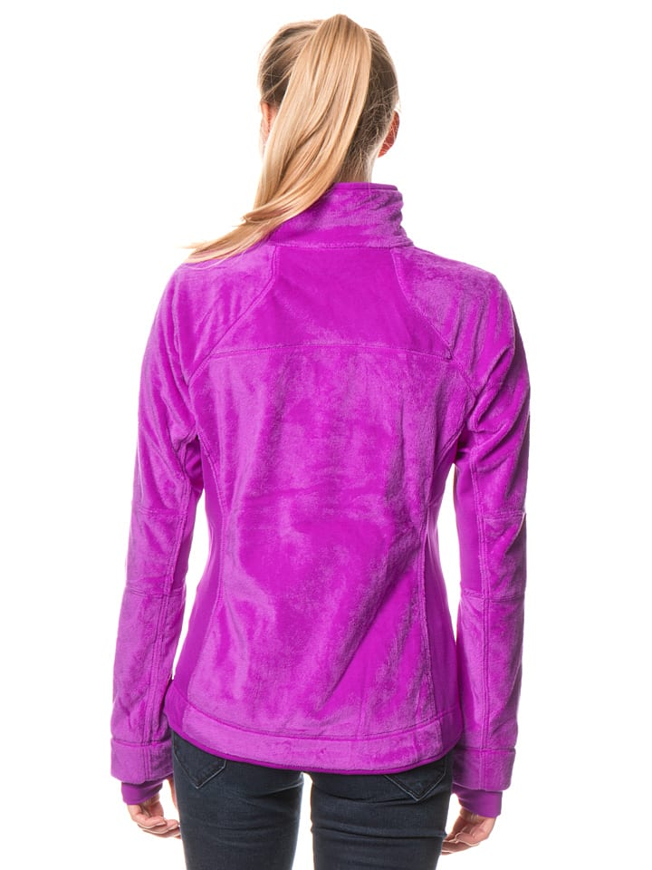 "Columbia Fleecejacke ""Pearl Plush II"" in Violett"
