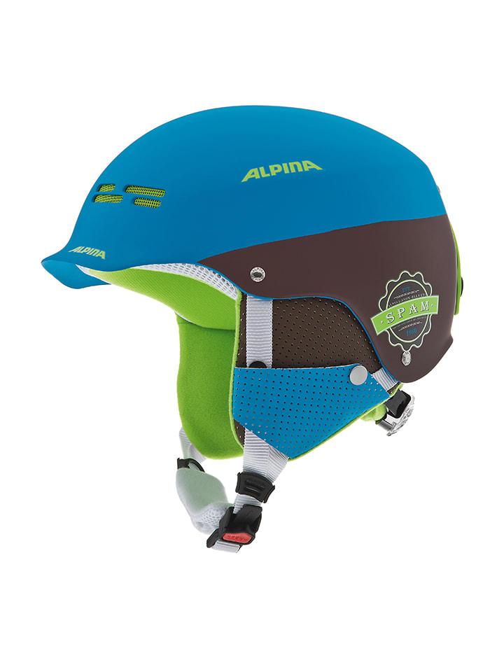 """Alpina Ski-/snowboardhelm """"Spam Cap"""" blauw/zwart"""