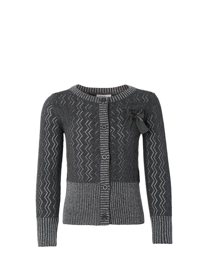 Noppies Sweter rozpinany w kolorze szarym