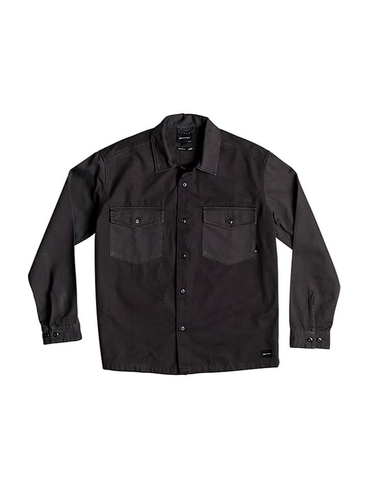 "Quiksilver Koszula ""Counter Fire"" w kolorze czarnym"