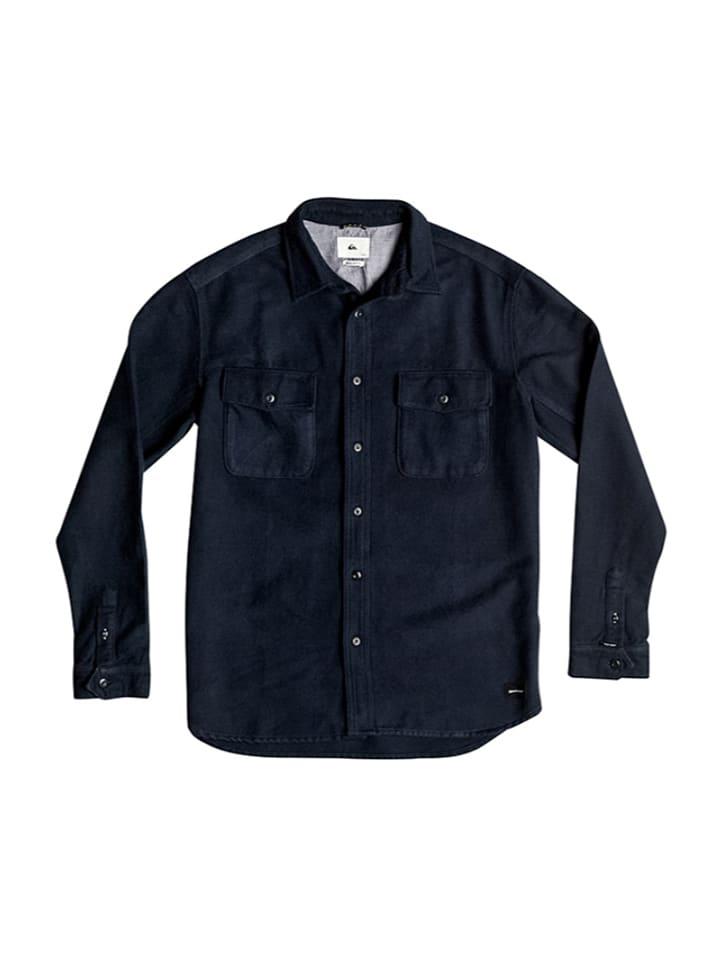 "Quiksilver Hemd ""Flannel"" in Dunkelblau"