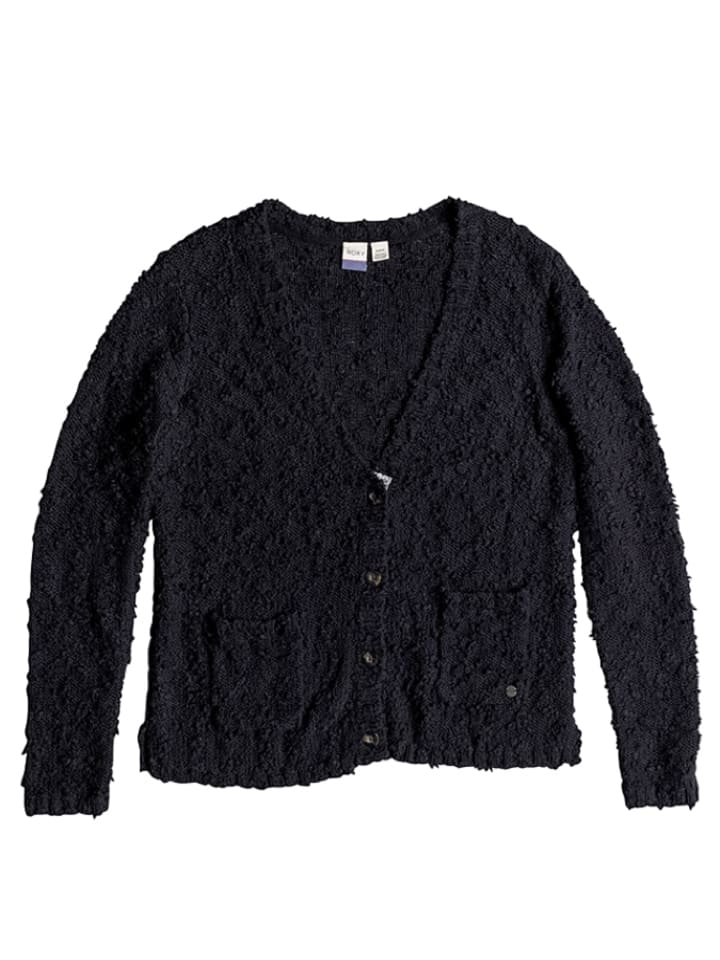 "Roxy Cardigan ""Tredding"" in Schwarz"