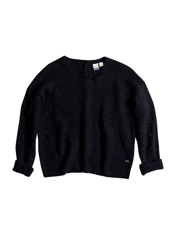 "Roxy Strickpullover ""Rest"" in Schwarz"