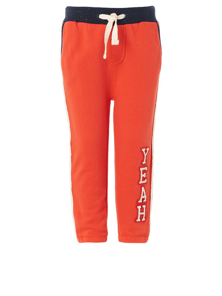 Noppies Spodnie w kolorze czerwonym