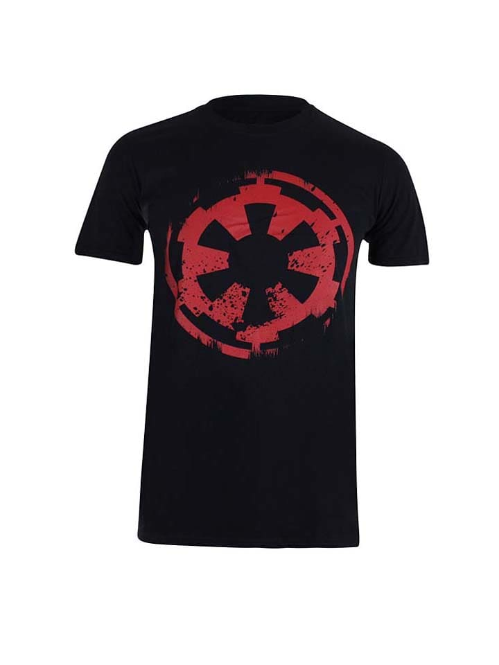 "Star Wars Shirt ""Distressed Empire"" in Schwarz/ Rot"