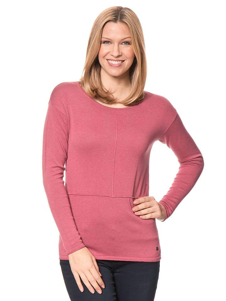 Tom Tailor Pullover in Fuchsia