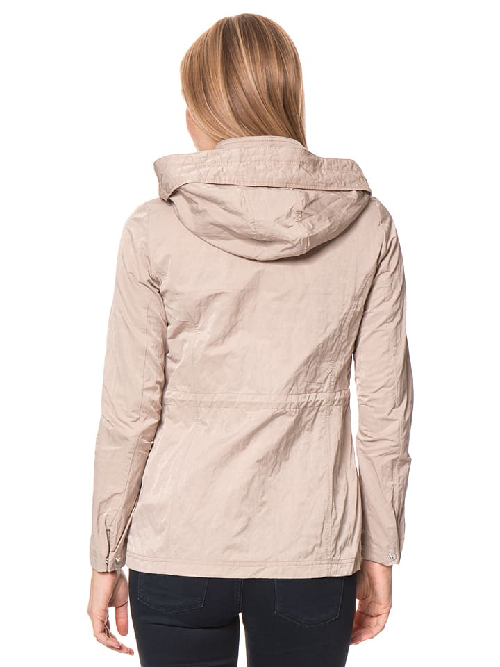 Tom Tailor 2in1-Jacke in Beige/ Pink