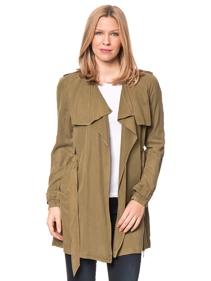 Tom Tailor Jacke in Khaki