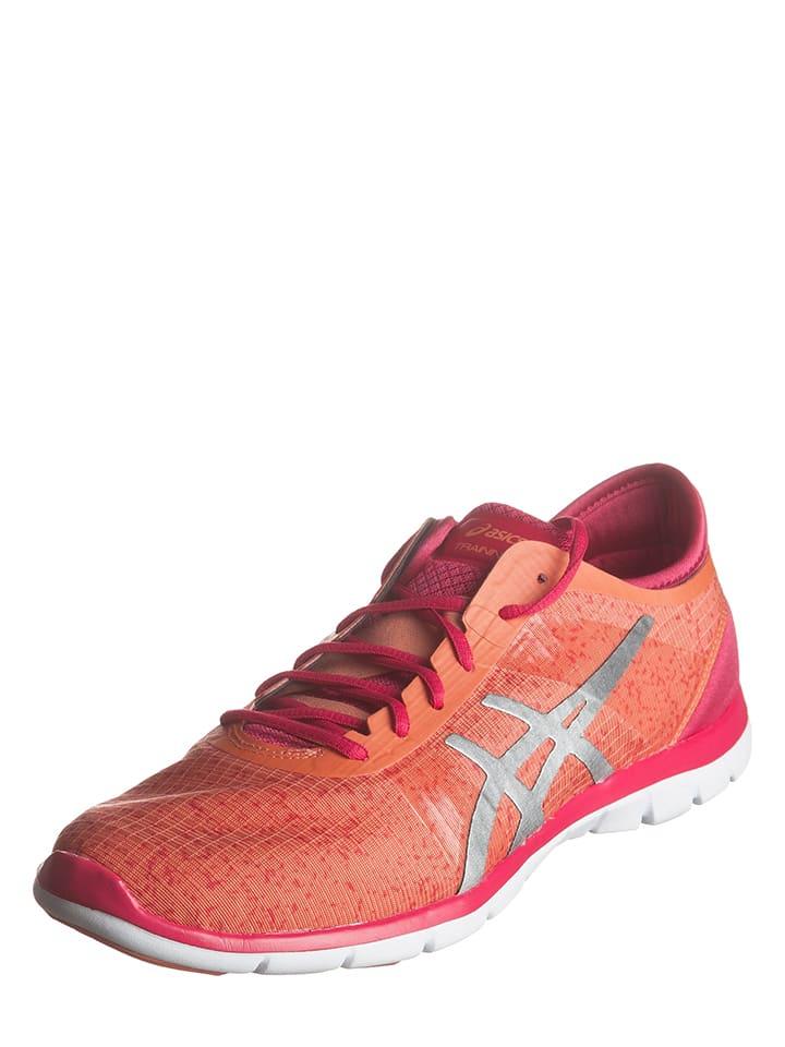 "Asics Fitnessschuhe ""Gel-Fit Nova"" in Orange/ Pink"