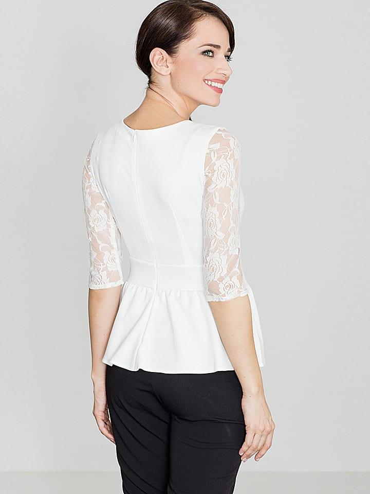 Lenitif Shirt in Weiß