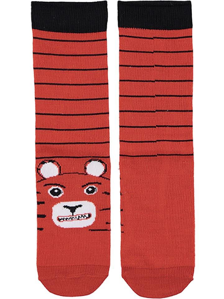 Dare 2b Socken Footloose III  in Rot/ Schwarz