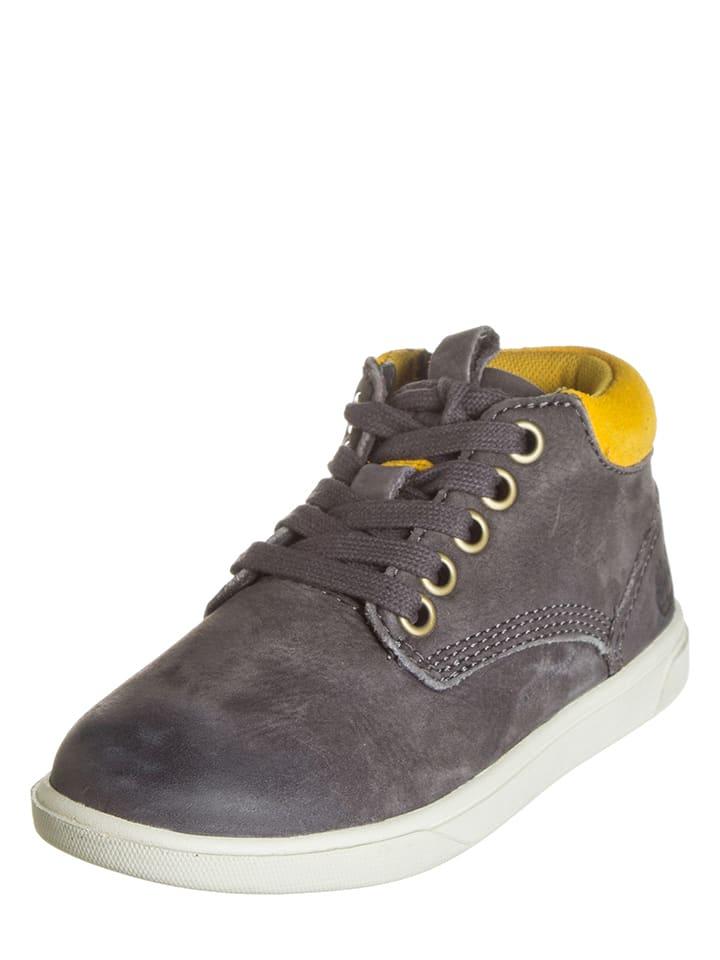 Timberland Leren sneakers grijs