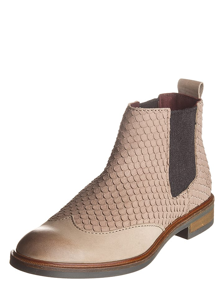 Marc O'Polo Shoes Leder-Chelsea-Boots in Rose