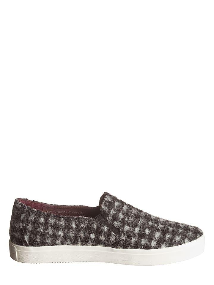 Marc O'Polo Shoes Slipper in Schwarz/ Weiß