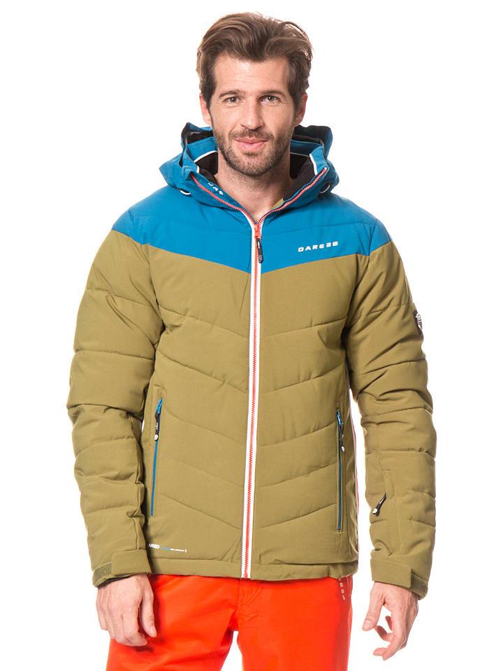 "Dare 2b Ski-/ Snowboardjacke ""Intention"" in Khaki/ Blau"