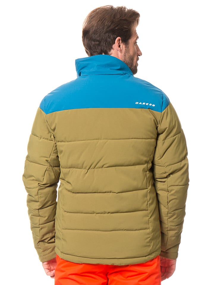 "Dare 2b Ski-/ Snowboardjacke ""Intention"" in Khaki/ Blau"