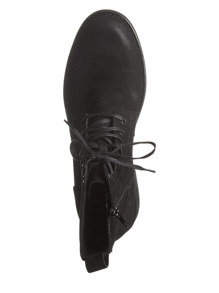 Vagabond Leder-Boots Lynnwood in Schwarz