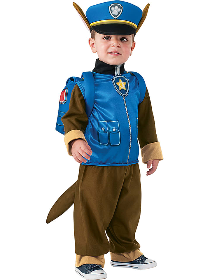 Rubie`s 3tlg. Kostüm Paw Patrol in Blau/ Braun