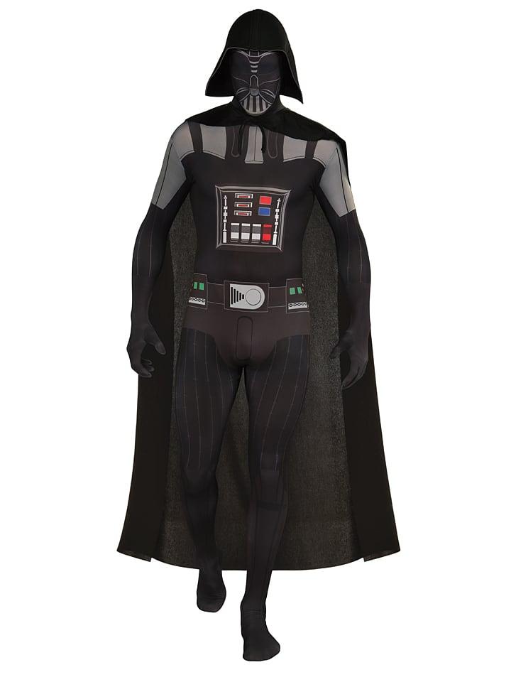 """Rubie`s 3tlg. Kostüm """"Darth Vader 2nd Skin"""" in Schwarz"""