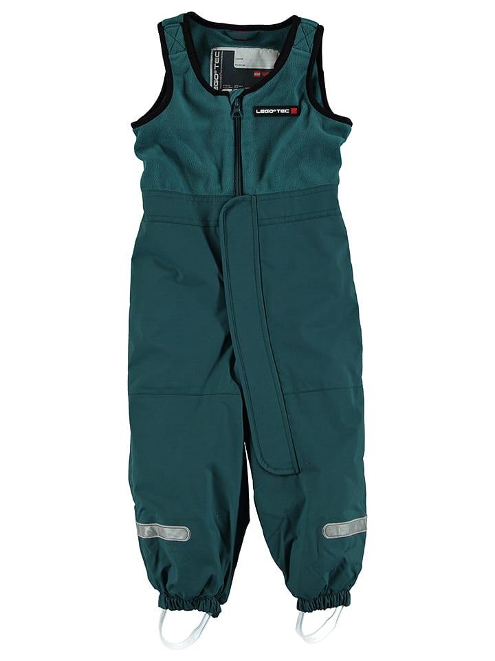 "Legowear Ski-/ Snowboardhose ""Pim 671"" in Grün"