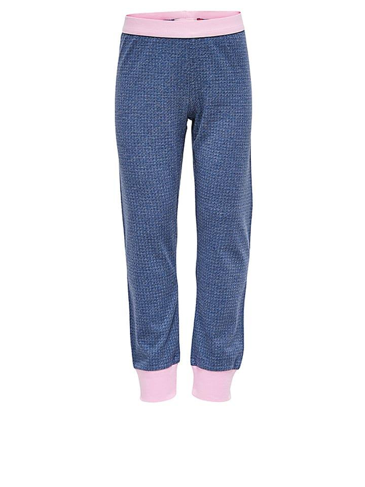 Legowear Pyjama Naja 706 in Weiß/ Blau