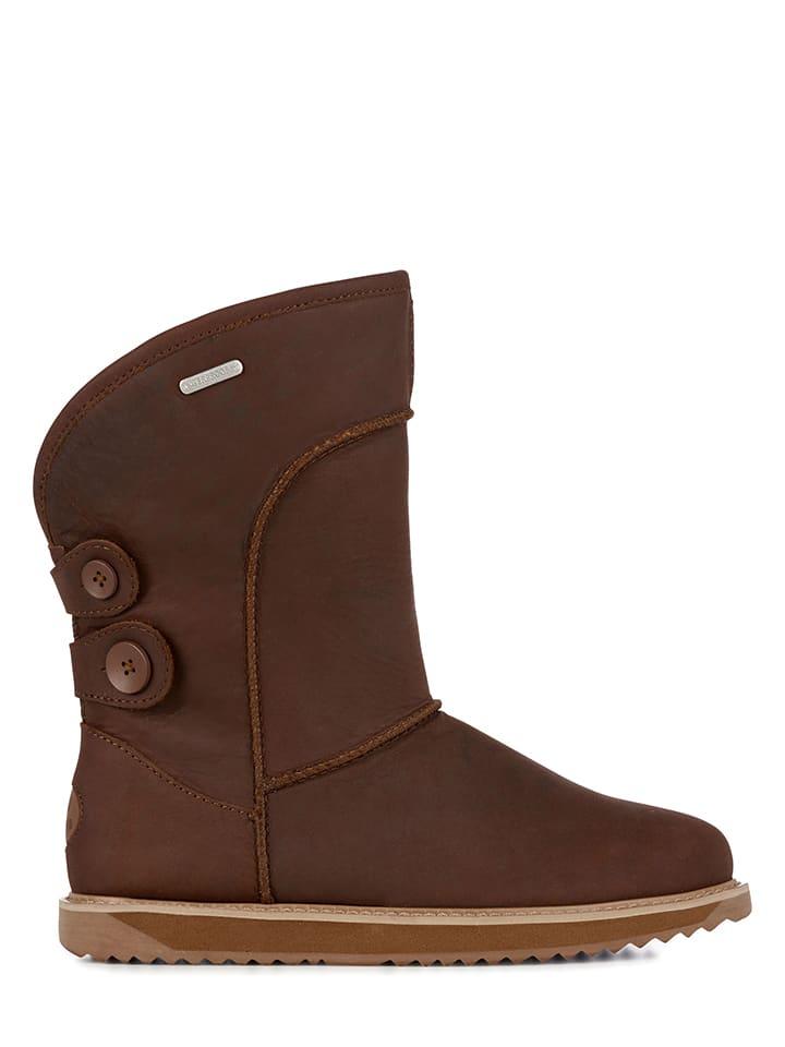 "EMU Schaffell-Boots ""Charlotte"" in Braun"