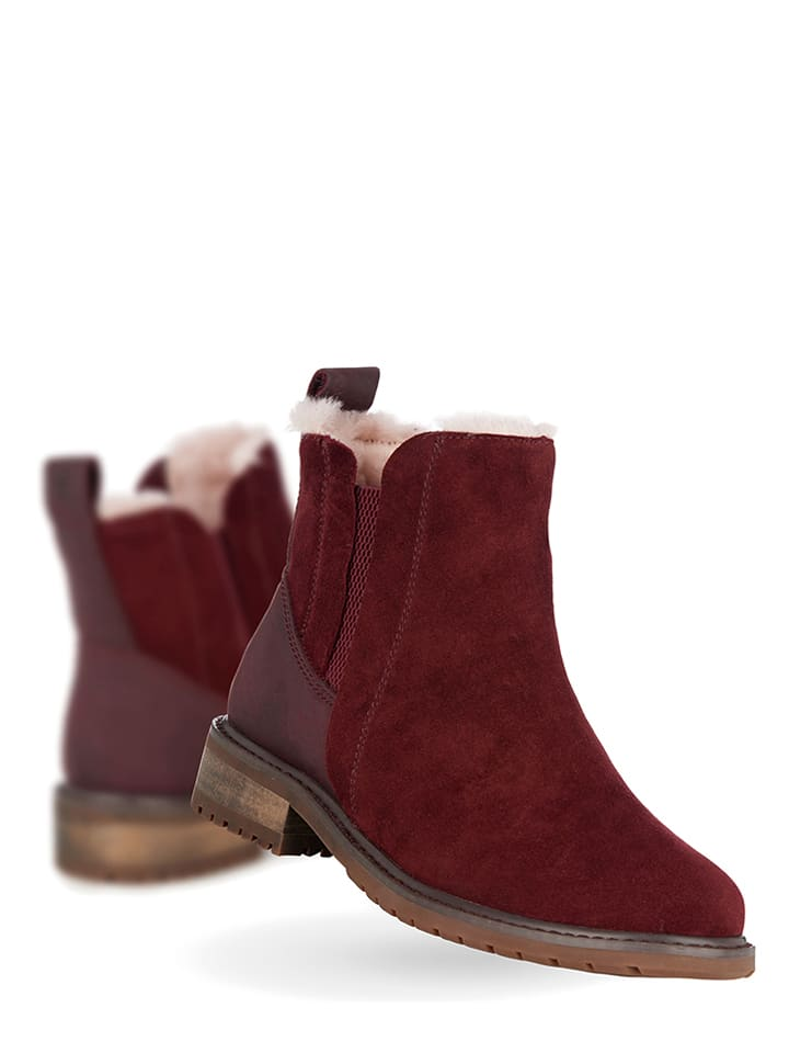 EMU Leder-Chelsea-Boots Taria in Schwarz - 75% qV1dDO
