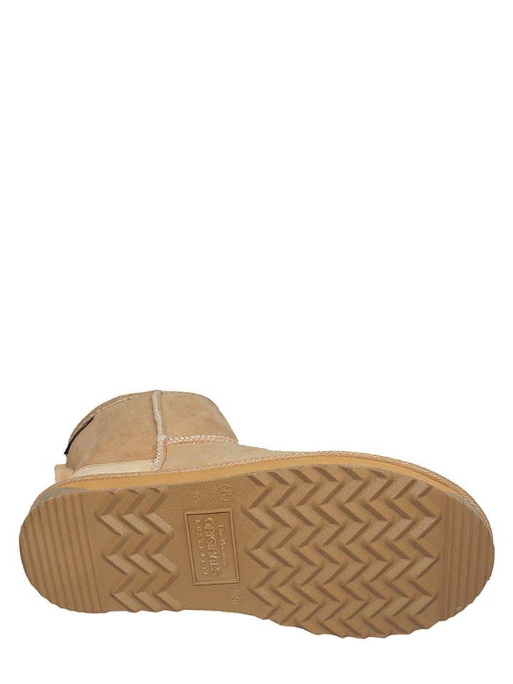 "BMO AUSTRALIA Schaffell-Boots ""Classic Surf Mini"" in Beige"