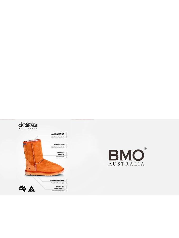 """BMO AUSTRALIA Schaffell-Stiefel """"Deluxe Surf"""" in Hellbraun"""