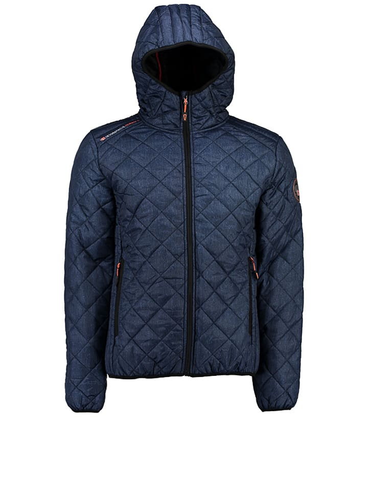 "Geographical Norway Übergangsjacke ""Callaway"" in Dunkelblau"