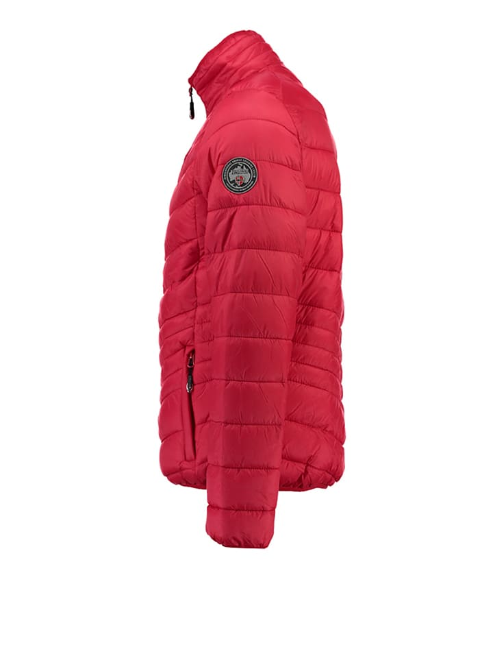 "Geographical Norway Übergangsjacke ""Chaplin"" in Rot"