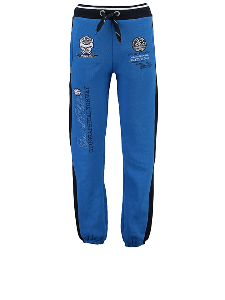 "Geographical Norway Sweathose ""Mersozon"" in Blau"