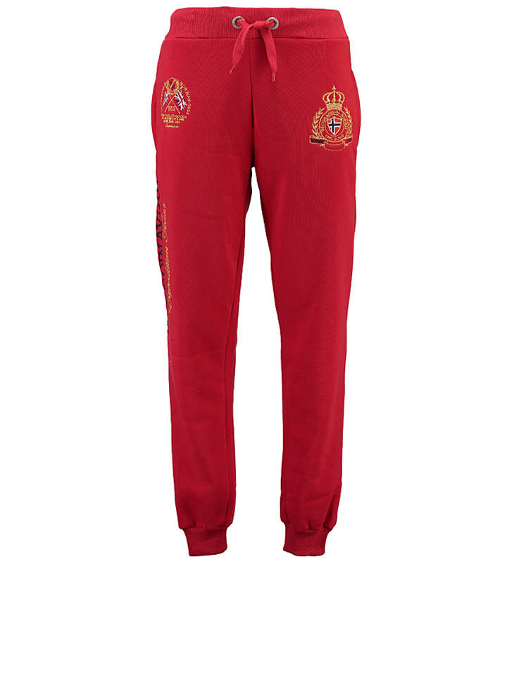 "Geographical Norway Sweathose ""Mevin"" in Rot"