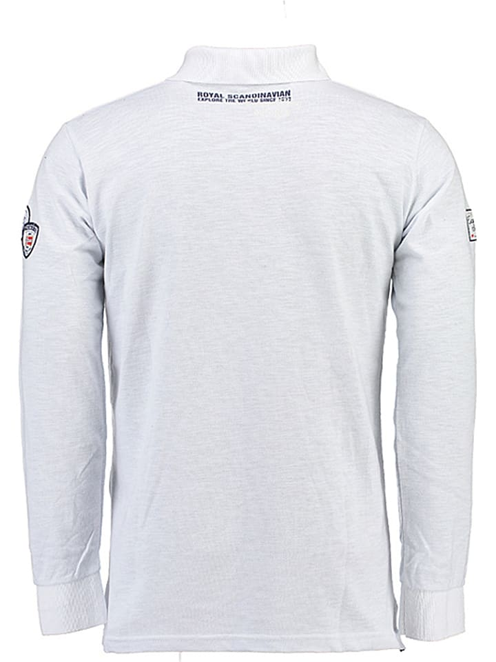 """Geographical Norway Poloshirt """"Kagatel"""" in Weiß"""