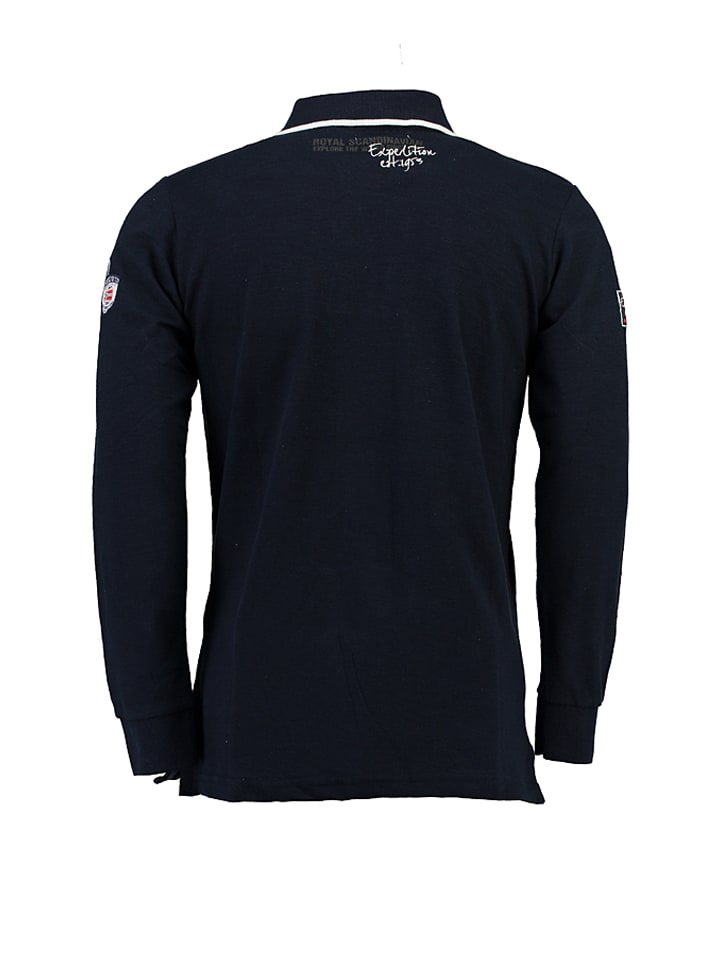 "Geographical Norway Poloshirt ""Kagatel"" in Dunkelblau"