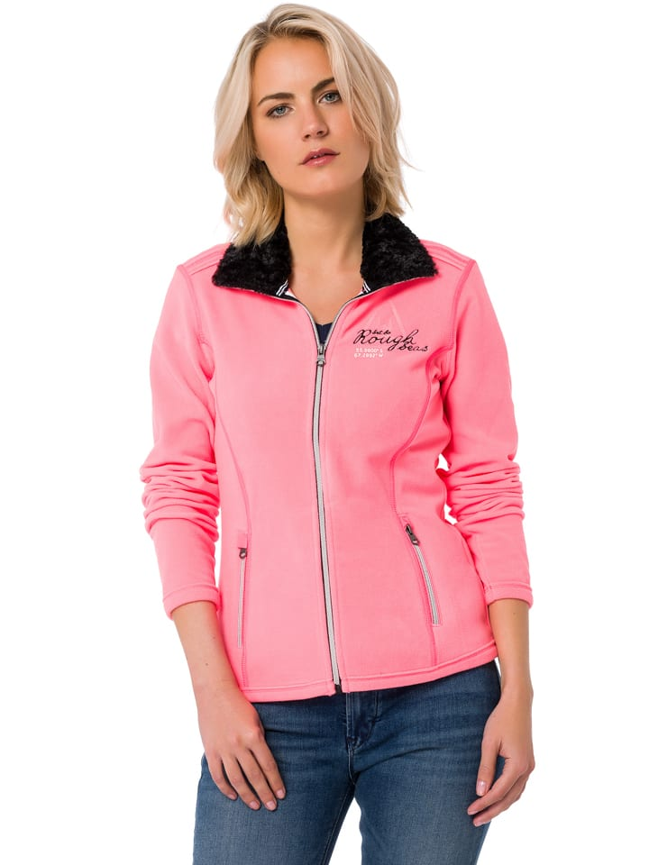 "GAASTRA Fleecejacke ""Finland Explore"" - Regular fit - in Rosa"