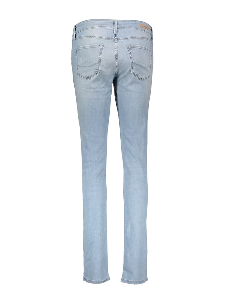 "Cross Jeans Jeans ""Anya"" - Slim fit - in Hellblau"