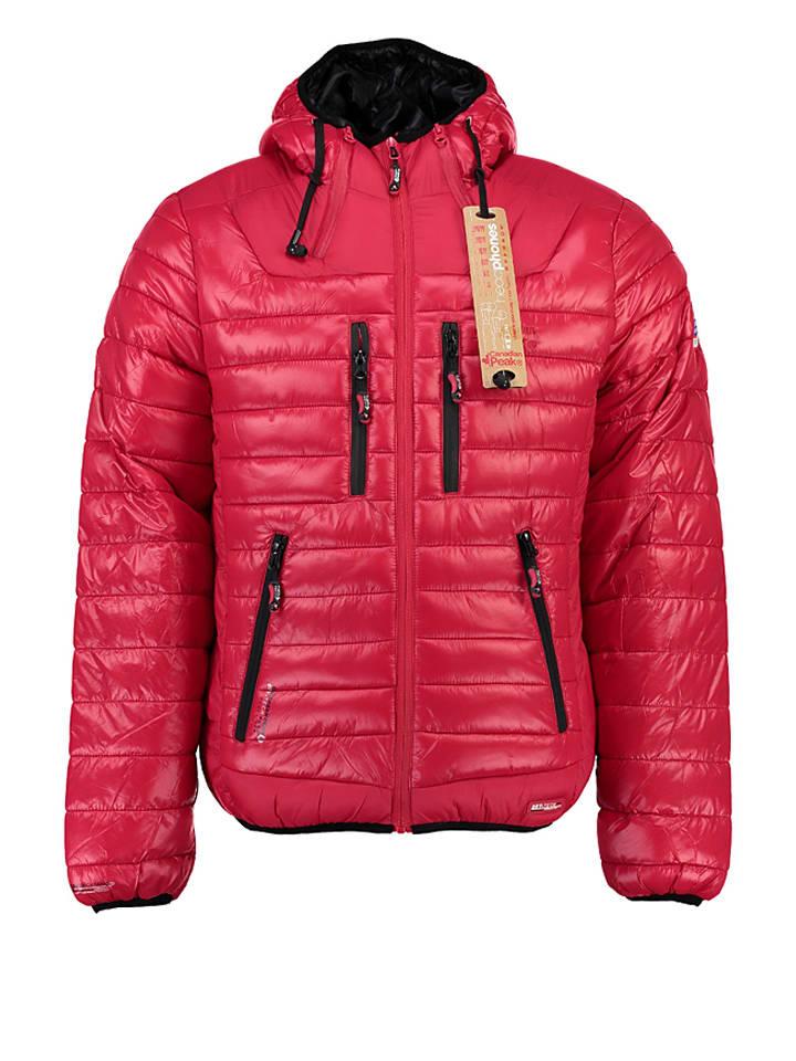 """Canadian Peak Winterjacke """"Brownie"""" in Rot"""