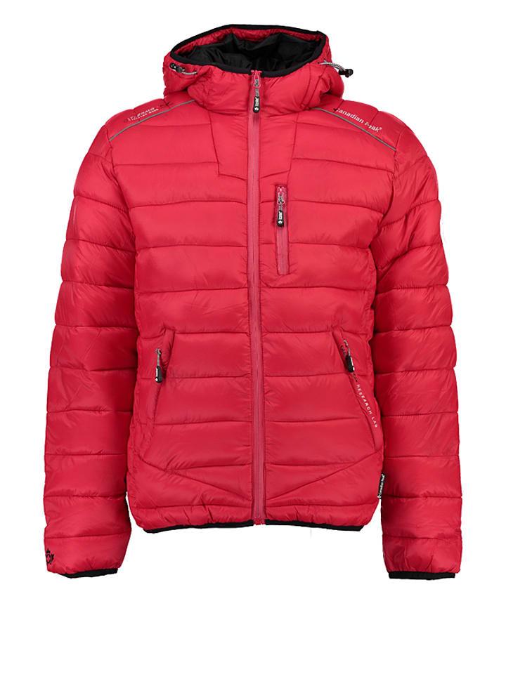 """Canadian Peak Winterjacke """"Cantagno"""" in Rot"""