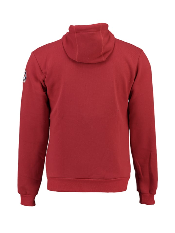 "Canadian Peak Sweatjacke ""Foratino"" in Rot"