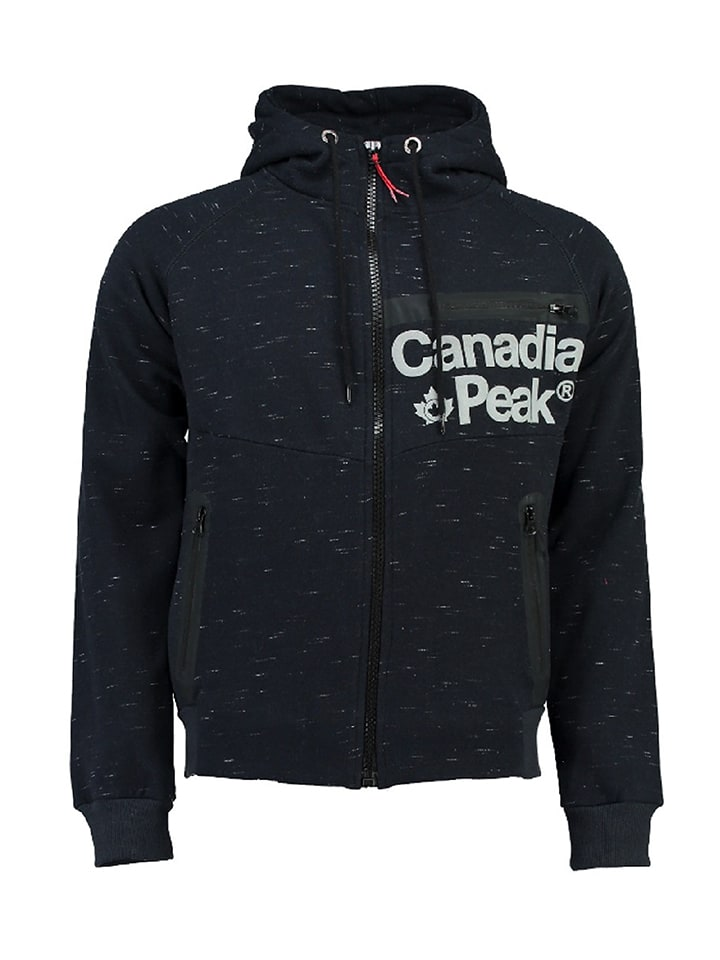 "Canadian Peak Sweatjacke ""Galileo"" in Dunkelblau"